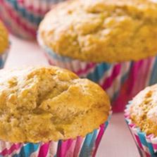 Muffiny owsiano-bananowe